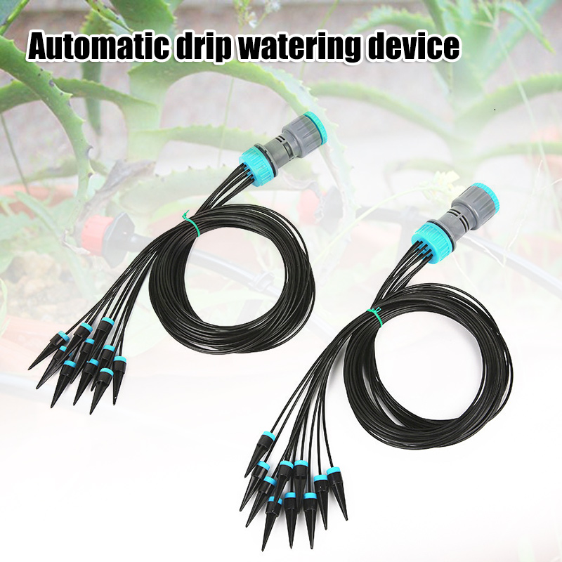 Drip Irrigation System Orchard Gardening Flower Arrow Dropper Drip Irrigation Tools P666 in Watering Kits from Home Garden