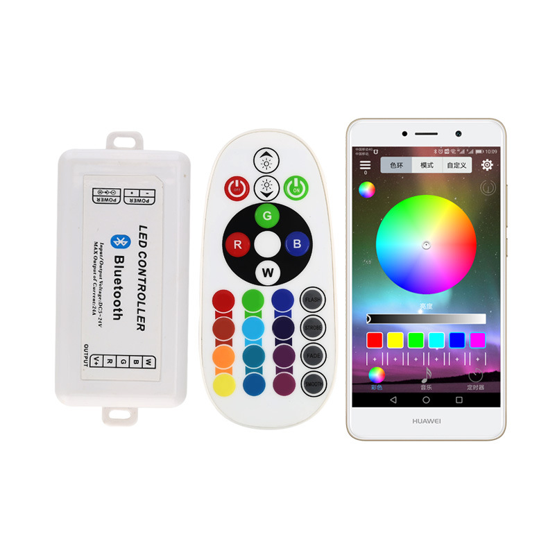 360W High-Power Bluetooth APP Strip Light Belt LED Controller RGB Lighting Chain Module Full Color RGB Controller