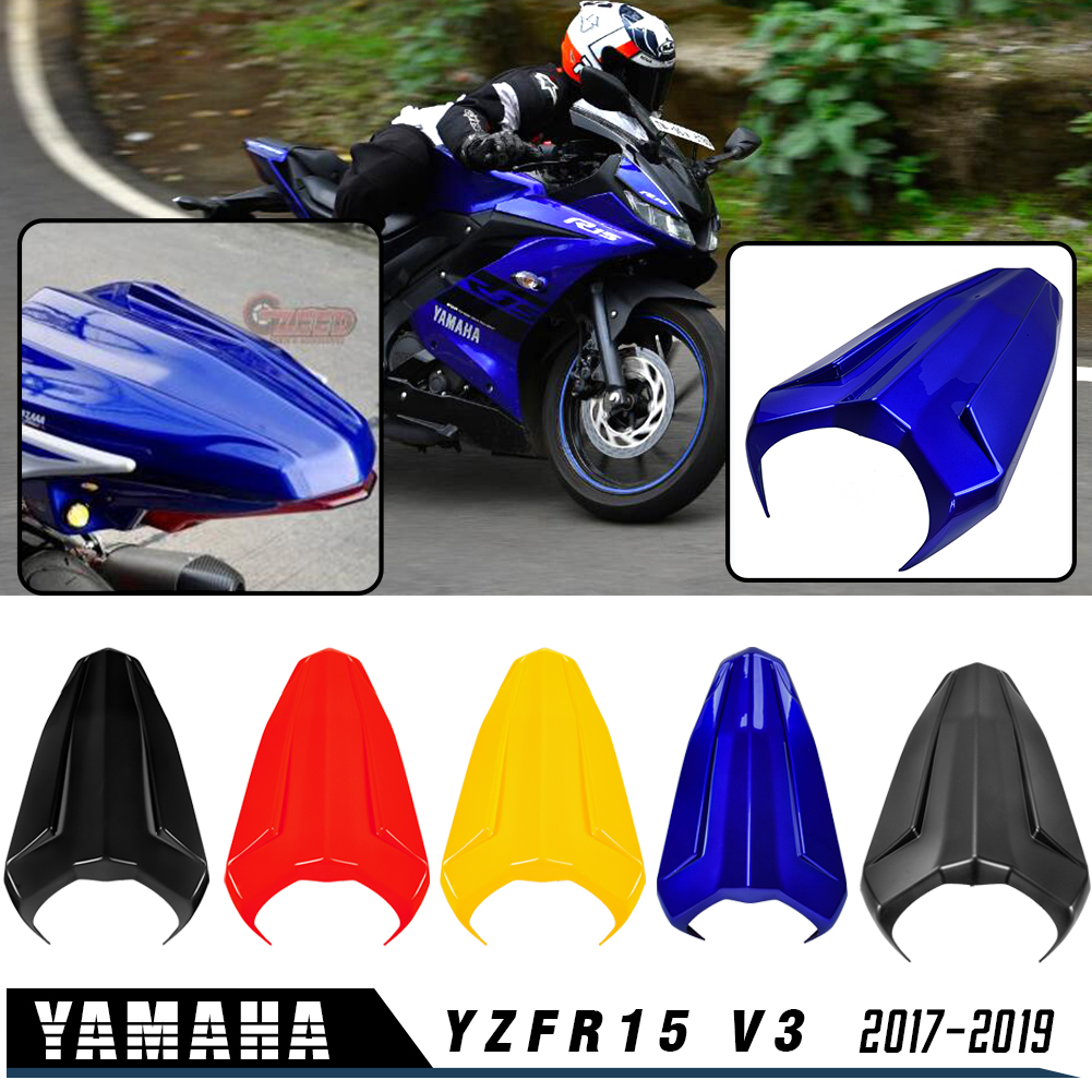 Motorcycle Accessories Tail Rear Pillion Seat Cowl Cover Fairing Protective For Yamaha YZF R15 V3 YZFR15 V3 2017 2018 2019