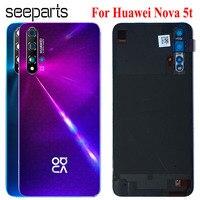 Funda trasera para Huawei Nova 5t, carcasa para batería Honor 20 se, reemplazo de teléfono, novedad