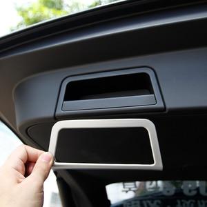 Image 4 - 자동차 뒷 트렁크 테일 도어 핸들 프레임 커버 트림 실버 ABS 크롬 랜드 로버 레인지 로버 Evoque (L551) 2020 자동차 액세서리