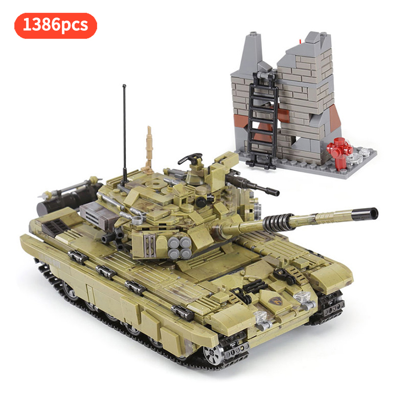 Army Series The Scorpio Tiger Tank vehicle Military Tank Building Blocks Bricks Toys For Children Gift