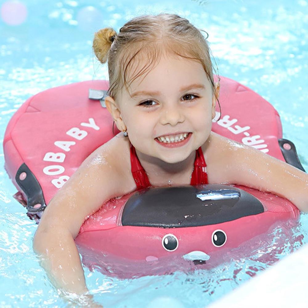 Baby Cartoon Swim Float Swimming Ring UV-protection Pool Lifebuoy  Floating No Need Inflatable Underarm Floats Swim Trainer
