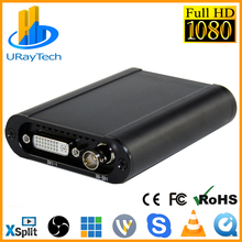 Лучший HD 1080P HD 3g SDI+ HDMI+ VGA+ YPbPr+ DVI захват ключ живого потокового видео Аудио захвата карты игры видео Захват