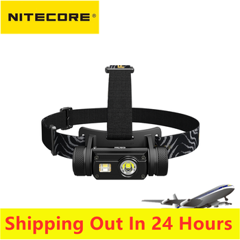Original Nitecore HC65 Headlamp 1000LM Triple Output Ourdoor Headlight Waterproof Flashlight included 3400mah Battery