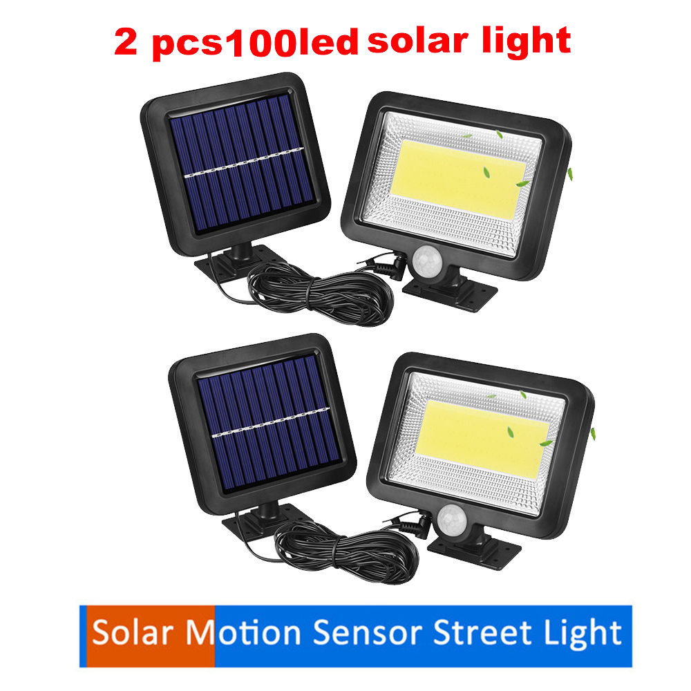 2/4pcs Solar Powered Ground Light Waterproof Garden Pathway Deck Lights With 100/56/30 LEDs Solar Lamp For Home Yard Driveway La