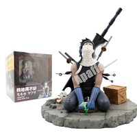 19cm Naruto Action Figure Momochi Zabuza PVC Japanese Anime Naruto Collectible Model Toys Desktop decoration