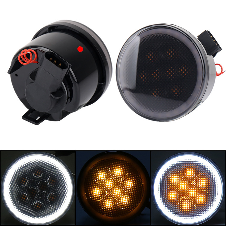Direct Manufacturers With Angel Eye Circle Horsemen Of Fender Flares Light Angle Of Turn Signal Lamp