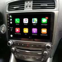 カーマルチメディア2 + 32プレーヤークアッドコアアンドロイド10カーラジオのgpsナビゲーションレクサスIS250 IS200 IS220 IS300 2006-2012