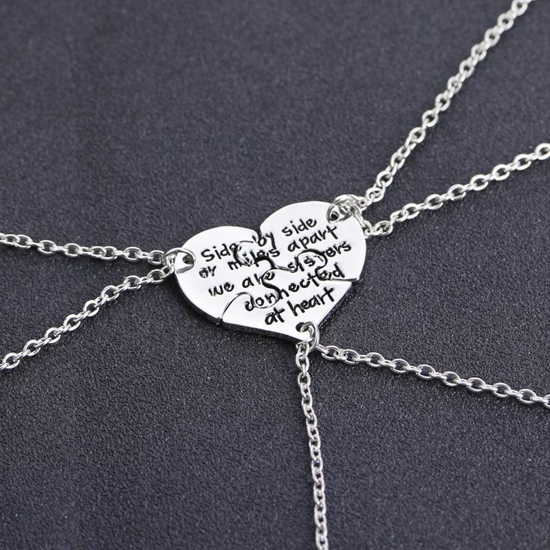 Купить подвеска «лучшие друзья» в форме сердца с надписью «best friends»
