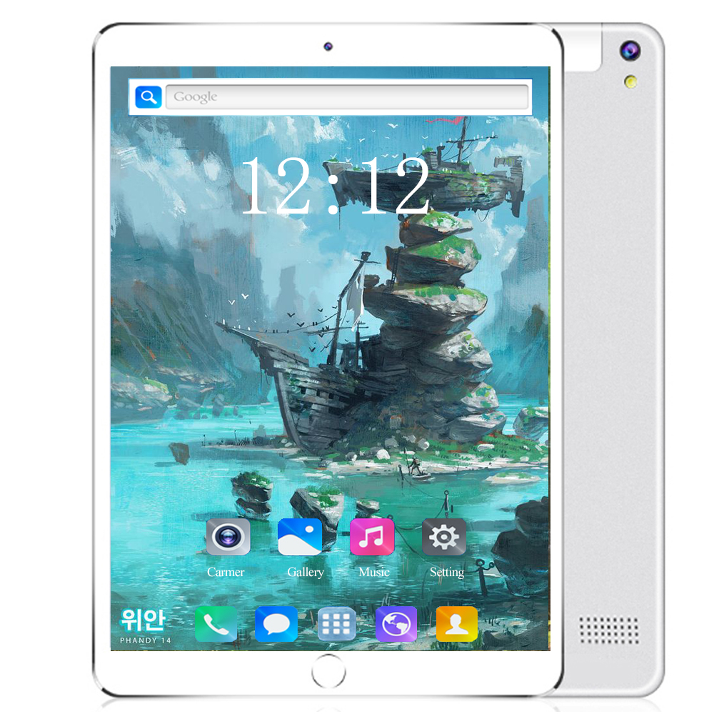 10 Inch Glass Screen Tablet LTE Ten 10 Core 6GB + 128GB ROM Dual SIM 8.0 MP GPS Android 9.0 Google IPS The Tablet Pc 4G Lte