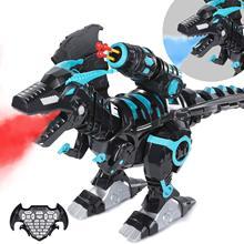 Névoa spray de controle remoto dinossauros brinquedos dinossauro elétrico rc robô animais brinquedos educativos para crianças presentes dos meninos