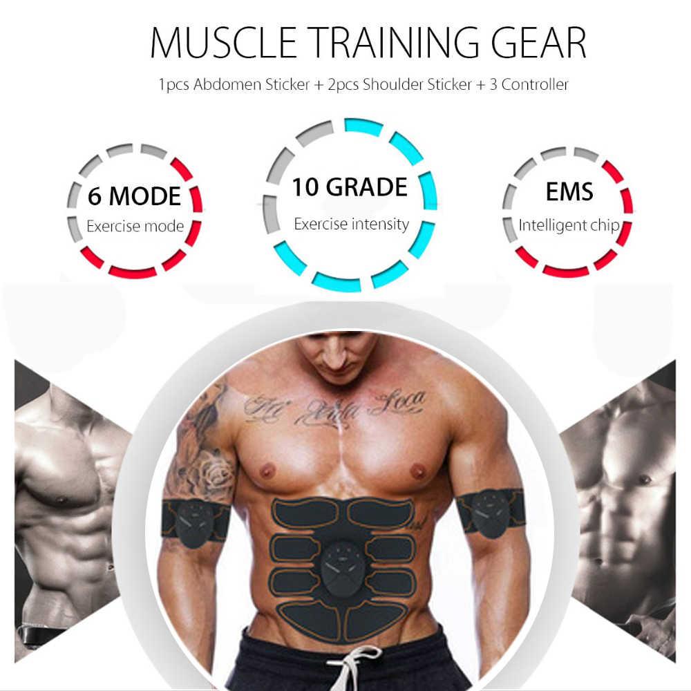 Ems Smart Hip Pelatih Nirkabel Stimulator Otot Pantat Perut Pad Lengan Kaki Toner Kebugaran Pembentuk Tubuh Unisex Latihan Equiment