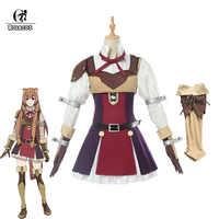 ROLECOS Anime Tate keine Yuusha keine Nariagari Cosplay Kostüme Raphtalia Kostüm für Frauen Cosplay Kostüm Volle Sets
