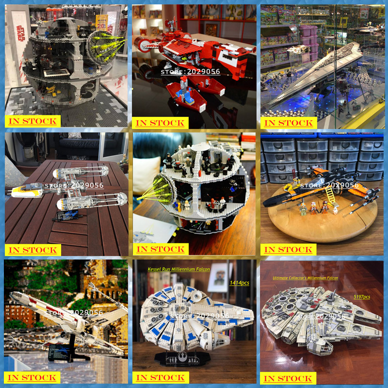 Star Wars Series 05038 05151 05045 05047 05084 05027 05028 05132 75252 05035 05036 05043 Building Blocks Bricks Toys Sandcrawler