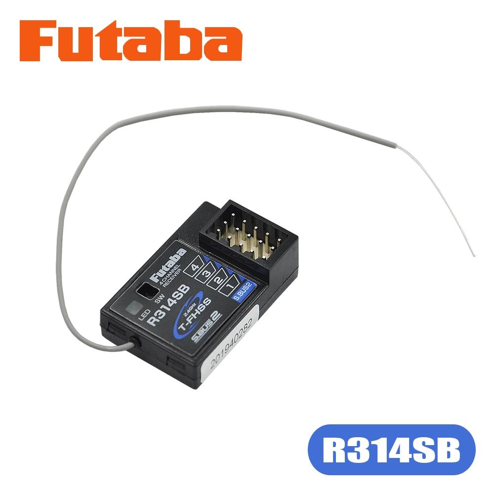 R314SB FUTABA 2,4 GHz T-FHSS Empfänger Für 4PX 4PXR 4PLS 4PV 4GRS 3PV 7PX Sender Radio Zwei-Weg High geschwindigkeit Telemetrie Empfänger