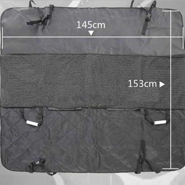 Waterproof Car Hammock Seat Cover Luxury Cushion Protector 3