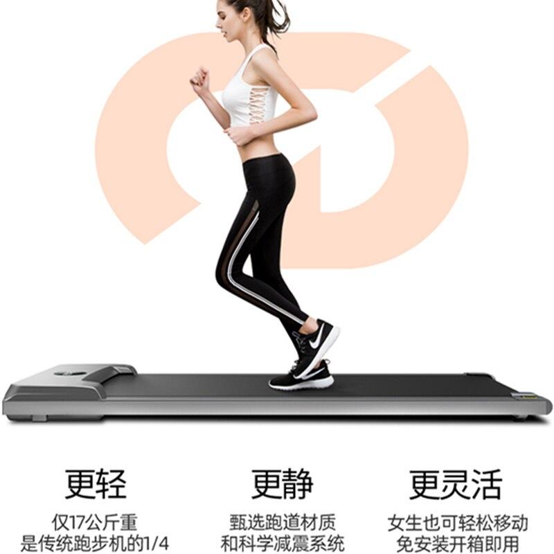 Household Mini Folding Small Indoor Fitness Ultra-Quiet Convenient Walker Machine Treadmill