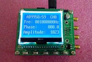 Ad9958 ad9959 quad channel dds módulo stm32 módulo de aprendizagem da fonte de sinal v3