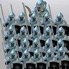 21 قطعة/الوحدة الصليبية روما قائد الجنود فرسان القرون الوسطى مجموعة اللعب الشكل بنة