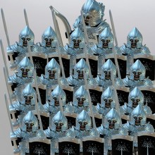 21pcs/lot Crusader Rome Commander Soldiers Medieval Knights  Group toys figure  building block