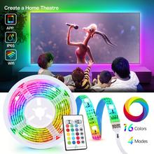 Smart TV Led Strip Lights music sync WiFi App or Remote Cont