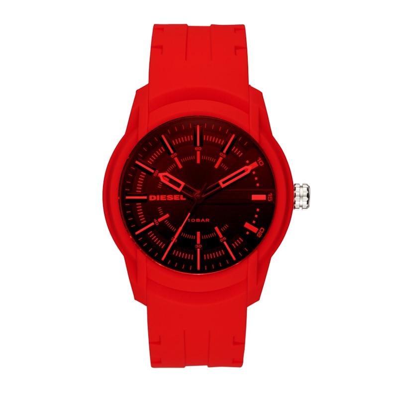 Diesel/Disney AMBER Series Bright Red Polarized Mirror Watch DZ1820
