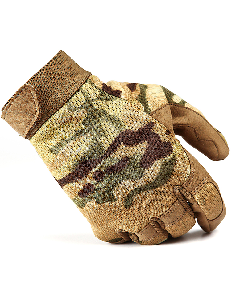 StrongSuit Precision Gloves Fingerless Construction TAN Shooting Photography Gun