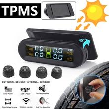smart car tpms tire pressure monitor system for nissan qashqai with 4 sensors wireless alarm systems lcd display tpms monitor Solar TPMS Car Tire Pressure Alarm Monitor System Display Intelligent Temperature Warning Fuel Save with 4 Sensors TPMS