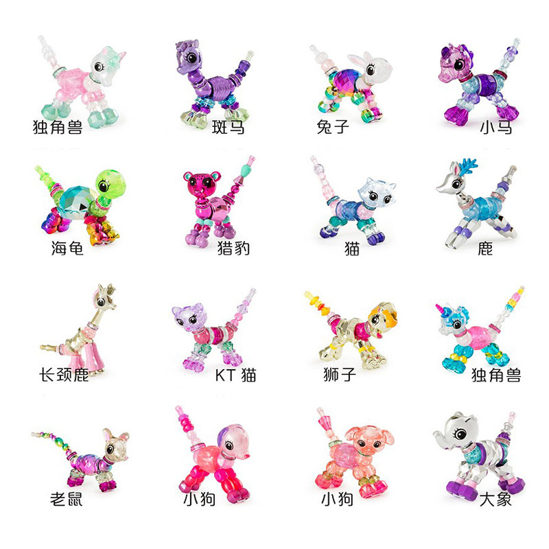 Magic Flexible Bracelet Shilly Variant Pet Toy Children's Creative Bracelet DIY Beaded Bracelet Jewelry