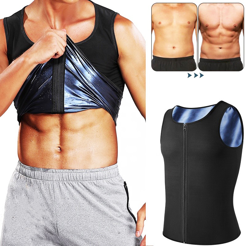 Men's Summer Gym Tank Top Singlets Vests Running Sleeveless T-shirt Corset Top Fitness Bicycle Shirt Male Compression Undershirt
