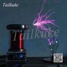 מותאם אישית 20CM מוסיקה סליל טסלה קטן סופת ברקים