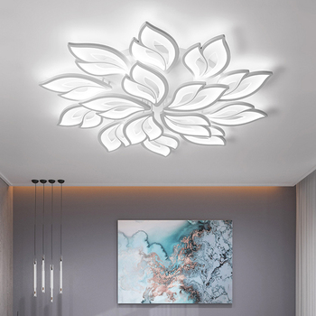 LED Chandelier Indoor Lighting Lustre chandeliers Ceiling With Remote Control Lustres Living Room Bedroom kitchen Fixture Light 1