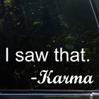 I Saw That - Karma (...