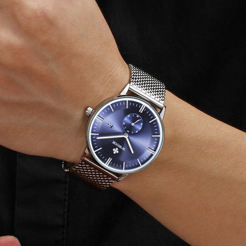 Montre Homme 2020 WWOOR Men's Watches Top Luxury Ultra Thin Dial Watch Men Minimalism Waterproof Quartz Clocks relogio masculino top luxury brand wwoor men s ultra thin watches men casual gold mesh band quartz watch waterproof wristwatch relogio masculino