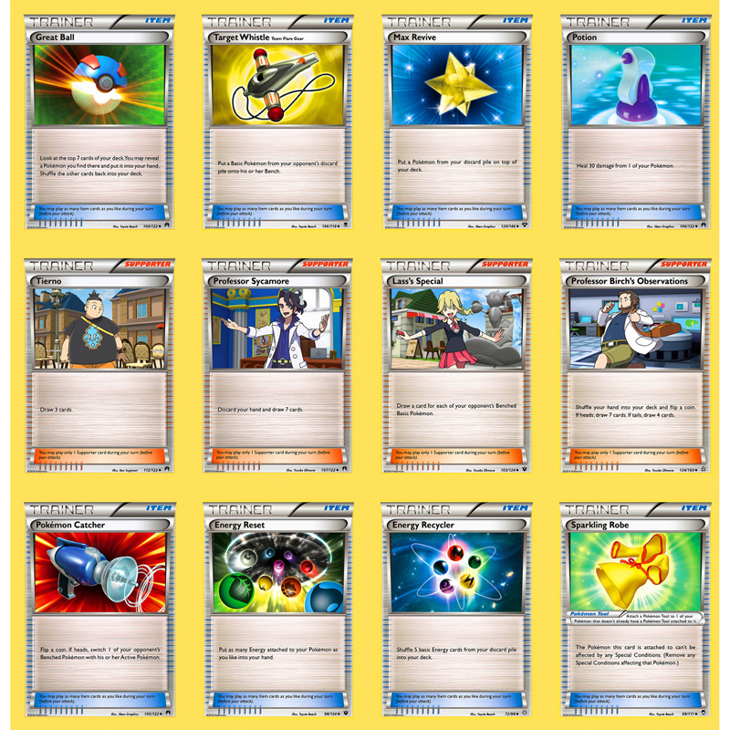 TOMY 50pcs/box Pokemon Card Prop Articles Persona Energy Collectible Trading Cards Game Kids Toys