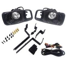 for Honda Civic EJ EM EK D16 Facelift Driving Bumper Fog Lamp + White Light Bulb + Switch (Transparent Lens)