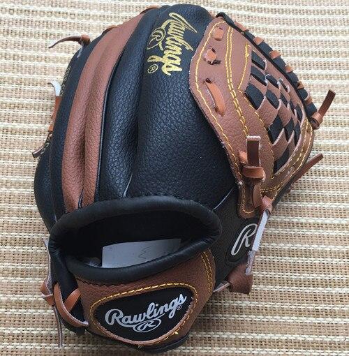 Baseball Glove Leather Right Hand Men Kids Baseball Glove Practice Hand Weighted Gants Baseball Beisbol Outdoor Sports BJ50ST