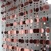 Geometric Sequined Design Curtain Stripes Set 6
