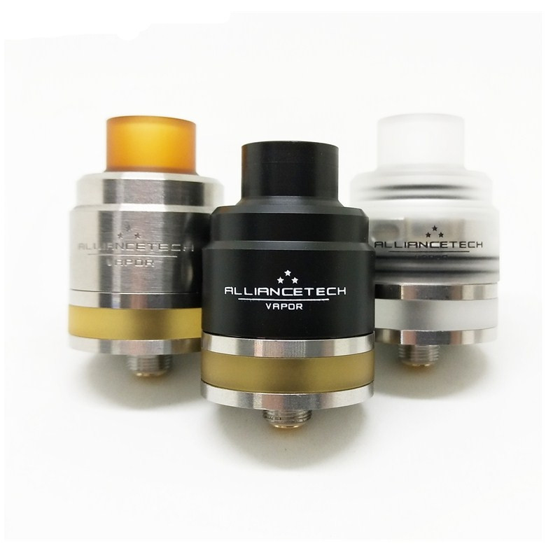 Flave 24mm RTA TANK 510 Thread 316 Stainless Steel 24mm RDTA 2mm Capacity Bottom Filling Electronic Cigarette Atomizer RDA TANK