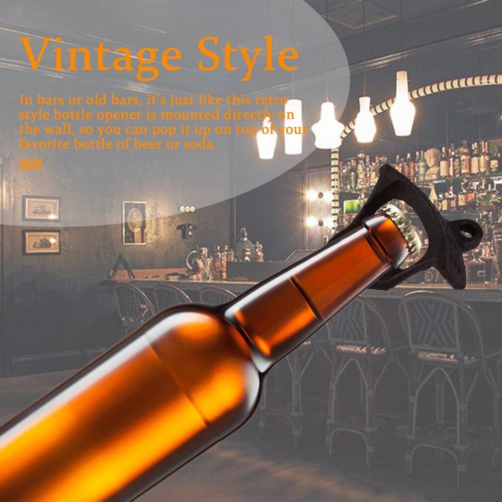 Античный стиль ржавчины Бар Паб пивная бутылка Топ пробка открывалка из углеродистой стали Винтаж экологичный для бутылки пива и стеклянной крышки