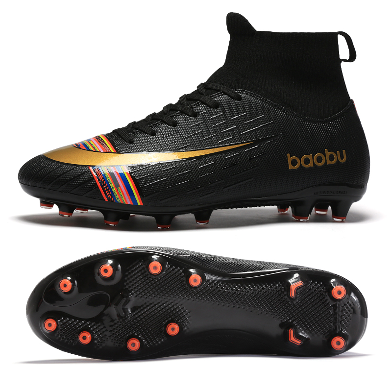 Outdoor Soccer Shoes Football Boots For Man Breathable AG/TF Sole Sneakers Mens Kids Soccer Cleats Shoes Original Football Shoes