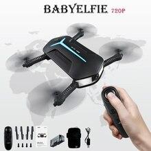 Jjrc h37 mini bebê elfie selfie 720 p wi fi fpv com altitude hold modo headless dobrável rc zangão quadcopter rtf multi bateria