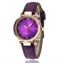 2020 Fashion Casual wrist watch for women stylish Leather Belt Luxury Diamond Quartz Watch Women Dress Clock relogio feminino