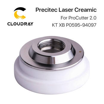 Cloudray Precitec Laser Ceramic Dia.31mm M11 Thread KT XB P0595-94097 for Precitec ProCutter 2.0 Laser Head zoqk 50 quartz laser protective lens mainly used in the precitec laser head size 50x2mm materials imported quartz