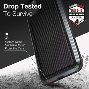 Image 2 - X Doria Defense Lux Phone Case For iPhone 11 Pro Max Military Grade Drop Tested Case Cover For iPhone11 Pro Aluminum Cover Coque