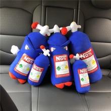 Net Red Simulation Fire Extinguisher Pillow Car Headrest Plush Toys Office Nap Pillow Creative Doll 3d k wow simulation funny pillow boys funny 2 ha pillow creative plush dog husky japanese akita nap pillow