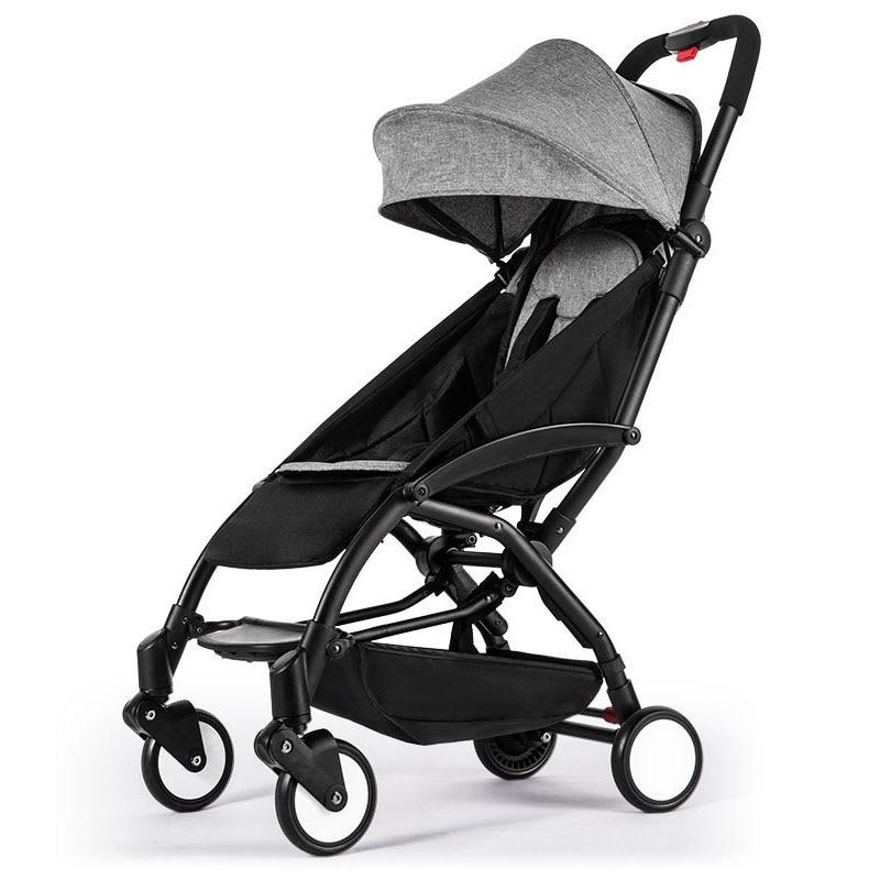 2021 חדש שדרוג יויה תינוק עגלת עגלה נייד מתקפל תינוק מכונית קל משקל עגלת עגלת תינוק נסיעות אירופה תינוק Pushchair