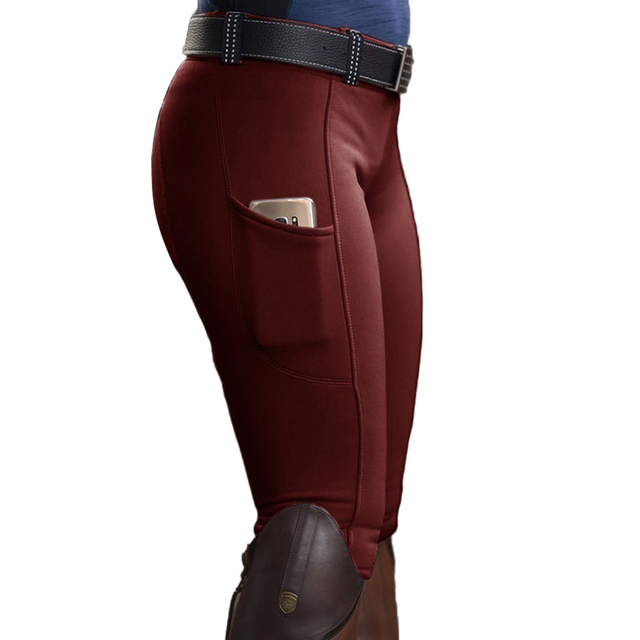 Womens Horse Racing  Spandex Trousers For Equestrian Riding Exquisite Design  5