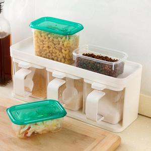 Image 3 - Ensemble de 17 pièces, four à micro ondes, réfrigérateur boîte de rangement des aliments, conteneur en plastique transparent